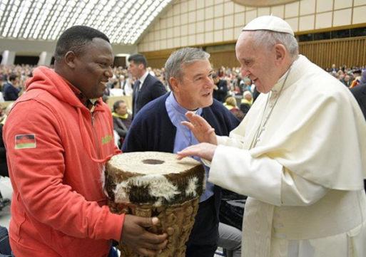 Alleluya Band Meet Pope Francis